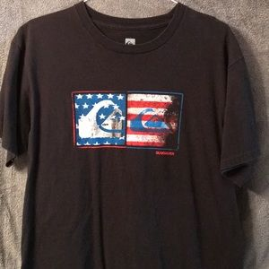 Red, White, & Blue Quiksilver T-shirt